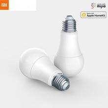 Оригинал Сяо mi Aqara W E27 лампы 2700 K-6500 K 806Lum Smart белый Цвет светодио дный лампочки работать с Apple Комплект домашний и mi Цзя mi App