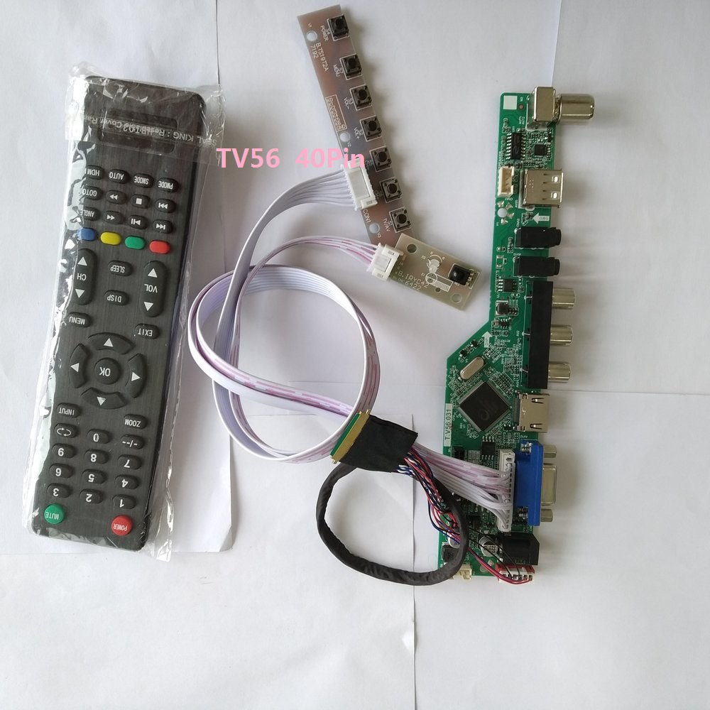 TL TV+HDMI+VGA+USB A1 LCD LED screen Controller Driver Board kit for LP156WH3