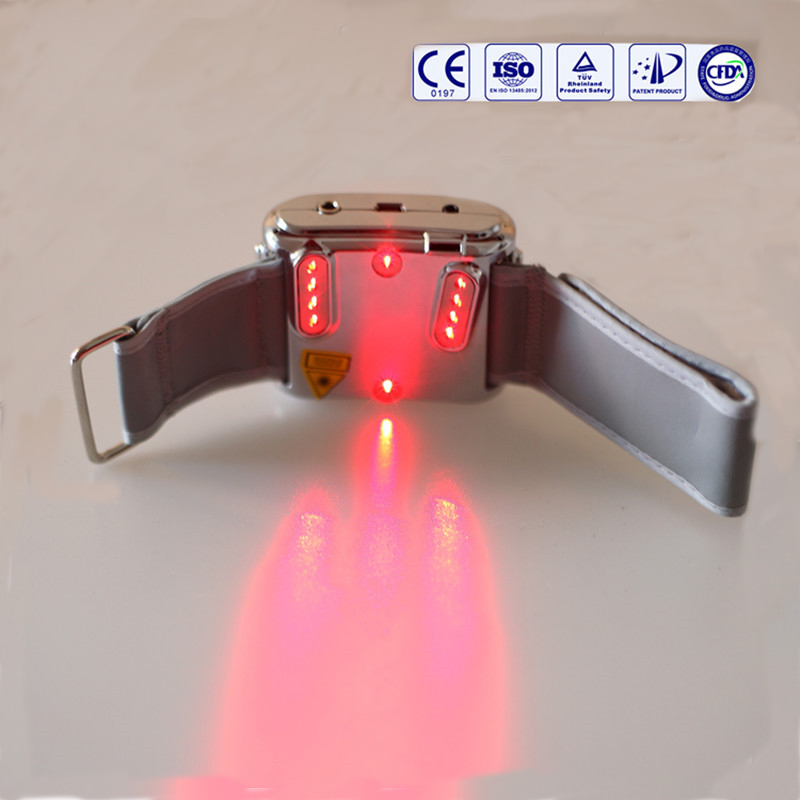 LASPOT laser therapy medical wrist watch for diabetes and rhinitis цены