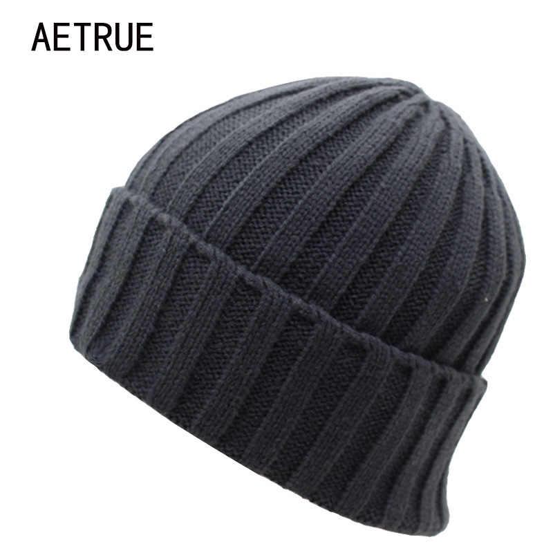 2018 Arrival Beanies Women Knitted Hat Men Winter Hats For Women Bonnet Caps  Gorros Brand Warm 4fb9cc57c428