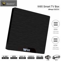 Beelink W95 TV Box Android 7.1 Amlogic S905W Quad Core 2G RAM 16G ROM Set Top Box 2.4G Wifi HDMI2.0 3D H.265 4K Media Player