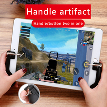 Shooter Controller Joystick For PUBG Mobile control For Ipad Tablet Cell Phone Gamepad Trigger Fire Button L1R1  For IOS Android shooter controller joystick for pubg mobile control for ipad tablet cell phone gamepad trigger fire button l1r1 for ios android