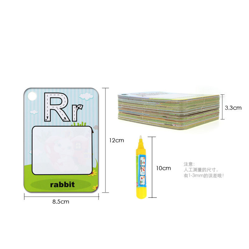 Water-Drawing-Card-26-English-Learning-Card-Magic-with-2-Pen-Letter-Card-Painting-Board-Educational-Toys-for-Kids-5