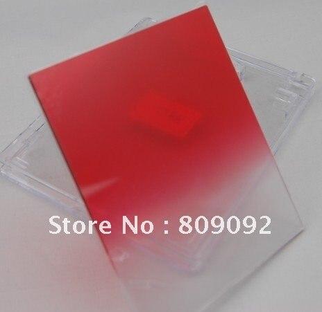 Градиентный закат красный Цветной фильтр для Cokin P серии