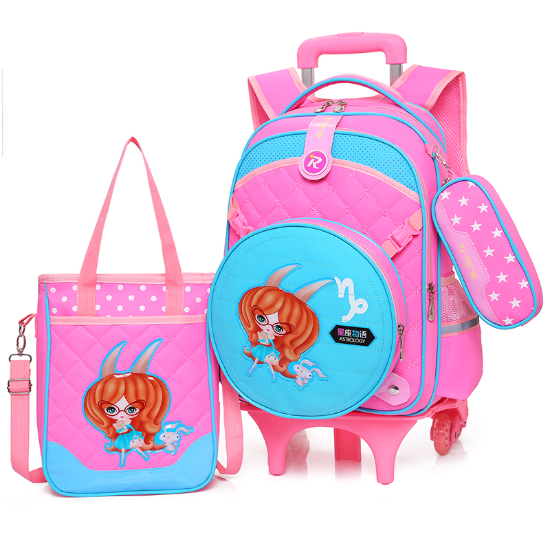 Online Buy Wholesale rolling backpacks boys from China rolling ...