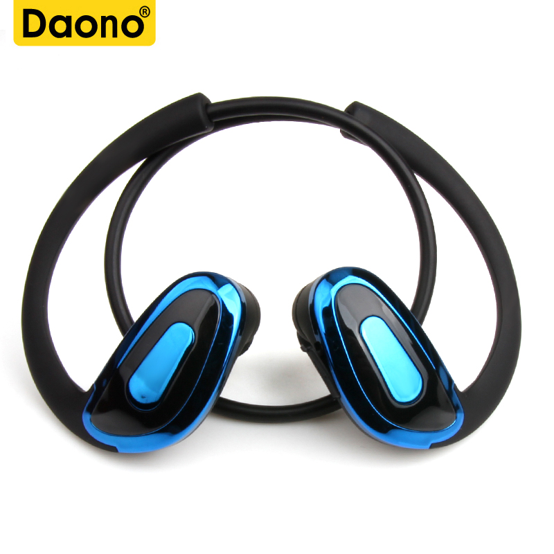 DAONO R8 Bluetooth Headphones for Running Wireless Earbuds for Exercise or Gym Workout Sweatproof Stereo Earphones Sport Headset