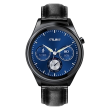 Original Mlais Android 5.1 1.3inch Smart Watch MTK2601 1.2GHz Dual Core Bluetooth 4.1 Screen 400mAh Battery Remote Control