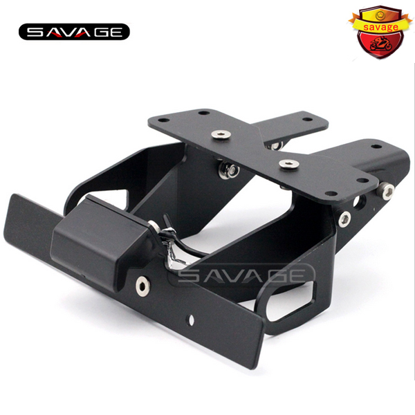 For KAWASAKI Z1000 Z750R Z750 2007-2012 Motorcycle Tail Tidy Fender Eliminator Registration License Plate Holder LED Light aftermarket free shipping motorcycle parts eliminator tidy tail for 2006 2007 2008 fz6 fazer 2007 2008b lack