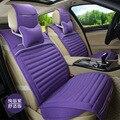 Capas para assento de carro de linho listrado novos produtos para o interior acessórios 5 assento/set frete grátis GFWT1401