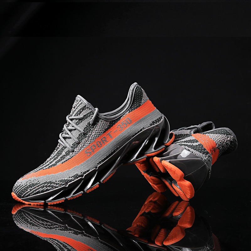 New Lovers sports shoes high quality design knife slingshot Men running shoes Men sneakers women Breathable sneakers men
