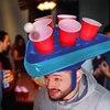 Beer-pong hat