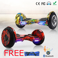 Electric Unicycle Adult Electric Skateboard Balance Hoverboard 10 Inch 36v Lithium Battery 10 Inch Solid Tyre