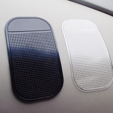 Free Shipping Auto Anti-Slip Car Dashboard Sticky Pad Non-Slip Mat GPS Mobile Phone Holder Black Color