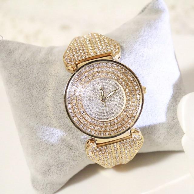 FUYIJIA luxury female watch Women's quartz watch brand fashion full diamond bracelet watch ladies dress watch relogio feminino