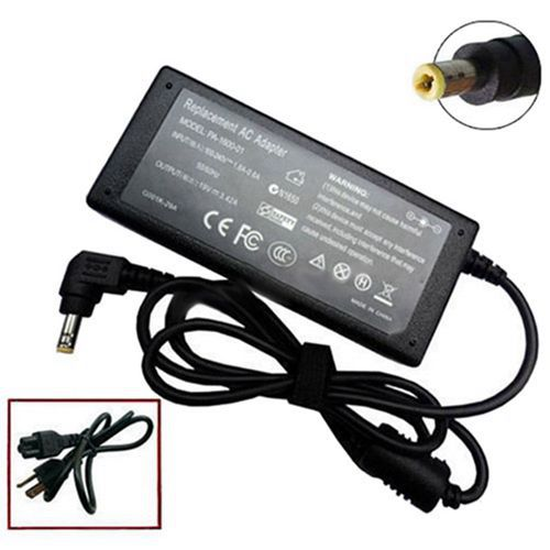 AC Adapter Charger Power For <font><b>Toshiba</b></font> <font><b>Satellite</b></font> <font><b>C55</b></font>-A5282 <font><b>C55</b></font>-A5285 <font><b>C55</b></font>-A5286 image