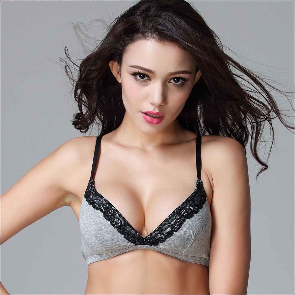 Teenage Girls No Wire Bra Comfort 100 Cotton Bras For Girls Puberty Sexy Women Intimates