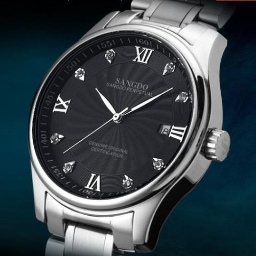 38mm SANGDO 0246B Automatic Self Wind movement man s watch wholesale High quality 2016 new fashion