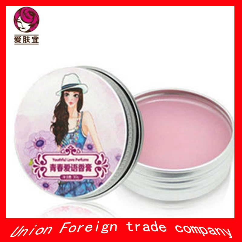 AFY youth love language ointment Ms solid perfume lasting, fragrant,Whitening