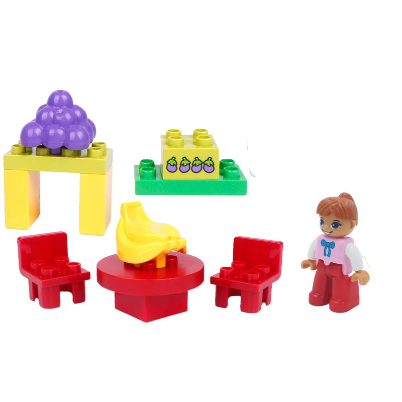 UMEILE-16-Style-Original-Classic-Big-Building-Block-Cowboy-Cake-City-Girl-Figure-Kids-Toys-Compatible-with-Duplo-Christmas-Gift-5