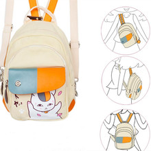 Anime Natsume Yuujinchou Cat Teacher Madara Bag Backpack Cosplay Prop Costume Props Child Outdoor