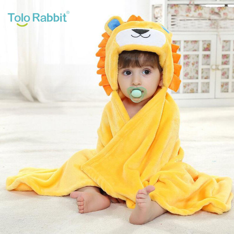 Baby Bedding Earnest Hot!retail Boy Girl Animal Baby Bathrobe/baby Hooded Bath Towel/kids Bath Terry Children Infant Bathing/baby Robe Honey Baby Blanket & Swaddling