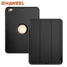 Haweel Tablet Case For iPad 9.7 (2018) (2017) 3-fold Magnetic Protective Case with Smart Cover Auto-sleep & Awake Function Shell godmask awake eu