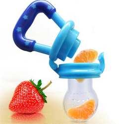 Свежие фрукты Еда дети ниппельная кормушка безопасный поилка молоком для ребенка соску соска для бутылочки Ниблер Прямая доставка