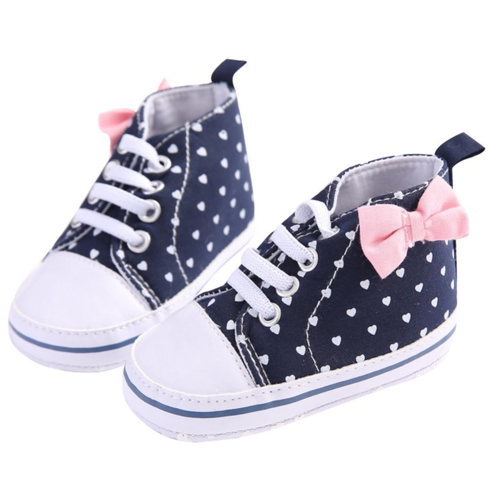 Lovely Cute Baby Girls Soft Leisure Shoes Spring Autumn Girls Kids Boy Love Toddler Shoes 0-18M 2018 New