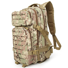 600D Oxford Outdoor Sports Tactical Backpack Waterproof Laser Cutting MOLLE  3P Military for activity