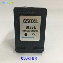 1PC 650 Black Ink Cartridge For HP Deskjet 1015 1515 2515 2545 2645 3515 4645 Printer