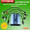 100% оригинал новый ufs turbo коробка для Samsung и Nokia и Sony Ericsson и LG с 4 кабелей + Быстрая доставка