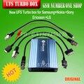 100% original nueva caja ufs turbo para Samsung y Nokia y Sony Ericsson y LG con cuatro 4 cables + Fast gratis