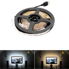 5V USB LED Strip RGB light,3528 Not-Waterproof 2835 5m 5 V Volt LED Tape Lamp,Diode Ribbon Flexible TV Backlight Living room