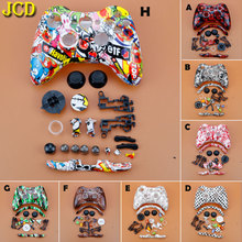 JCD For XBox 360 Wireless Game Controller Hard Case Gamepad Protective Shell Cover Full Set W/ Buttons Analog Stick Bumpers