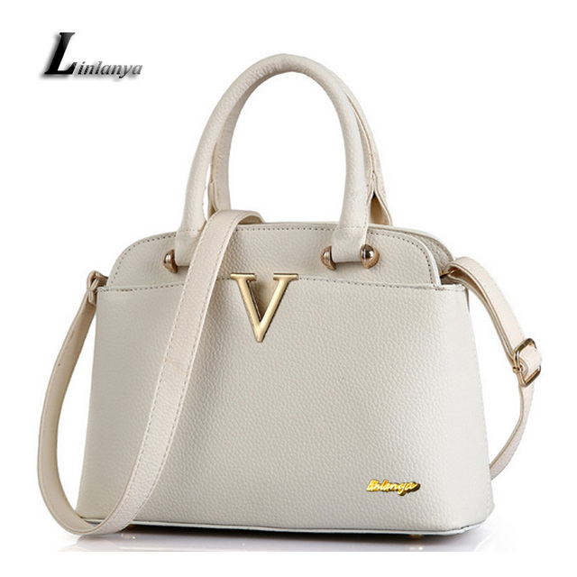 Ladies Classic White Handbags Female Pu Leather Shoulder Bags Sky Blue  Crosssbody Bags For Women Bolsos Mujer Noble Tote Bags 36dc1210ff