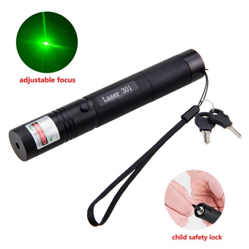 Green Laser Pointer Pen 532nm Powerful Visible Beam Light Lazer 10mile Teaching Outdoor Playing Visible Light