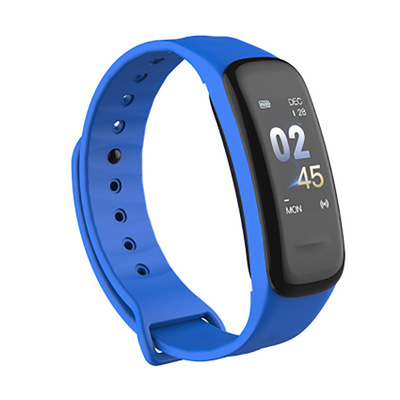 Image 2 - C1 Smart Bracelet fitness bracelet Dynamics Color Screen Waterproof Activity Heart Rate Monitor Blood Pressure Measurement-in Smart Wristbands from Consumer Electronics