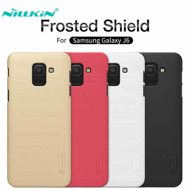 0be5cd0aa964 Nillkin For Samsung Galaxy J6 Case Cover J600F J600G Hard PC Plastic Phone  Case For Galaxy J6 2018 Back Cover Protective Shield