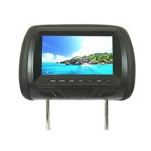 Universale 7 pollici schermo A LED TFT Auto MP5 player Poggiatesta monitor Supporto AV/ingresso USB/SD/FM /altoparlante/Macchina fotografica