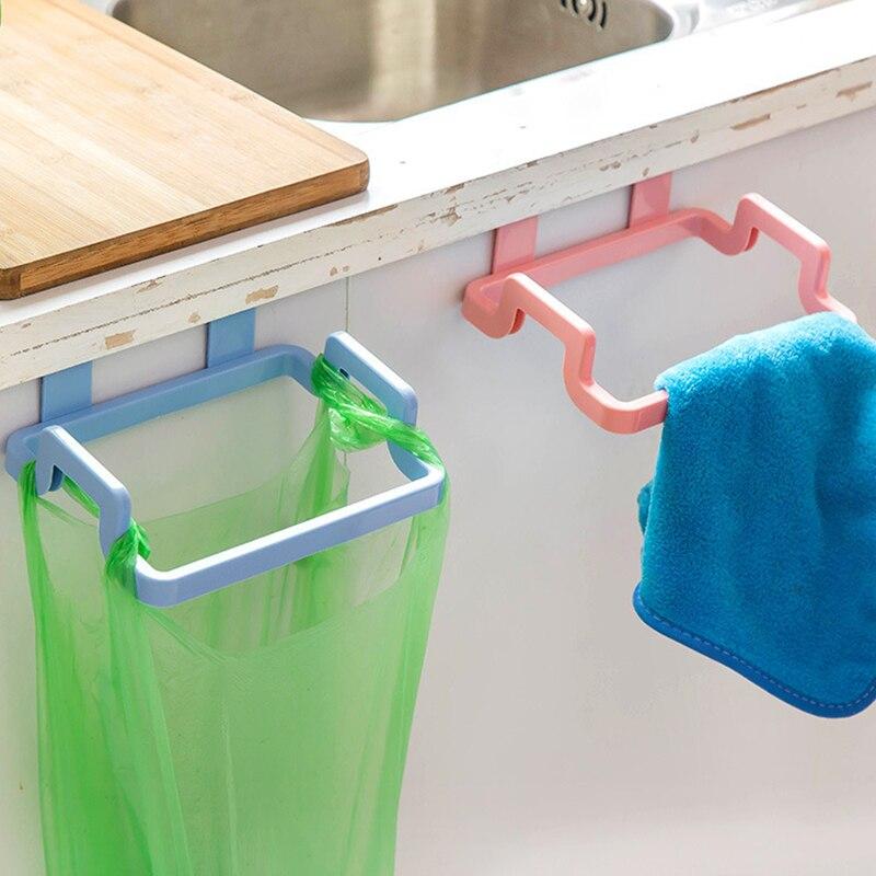 Kitchen Organizer Home Cupboard Door Rack Plastic Kitchen 1