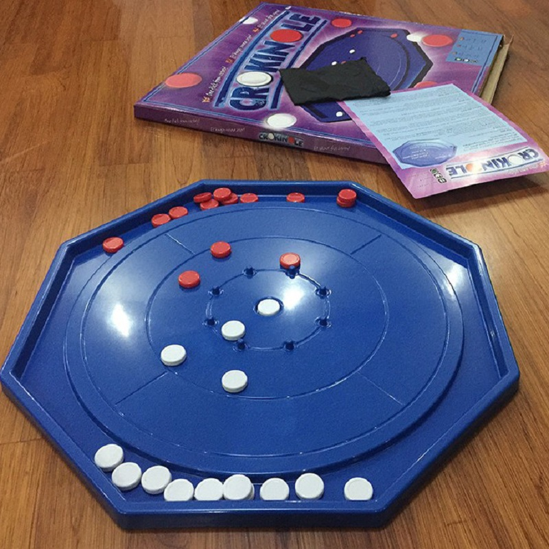 Canada Crokinole Game Board Game Games for adults children kids Family School couples Play board games 48x48 cm image