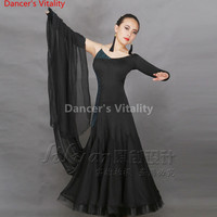 Adult/Children Long skirt Latin modern Dance Dress Girls/Lady Cha Cha/Rumba/Tango/Ballroom Dance Skirt Latin Performance Wear