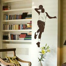 Free Shipping-Basketball Sport decor sticker Wall Sticker Stylish Vinyl Decal Art Home Decoration Mural