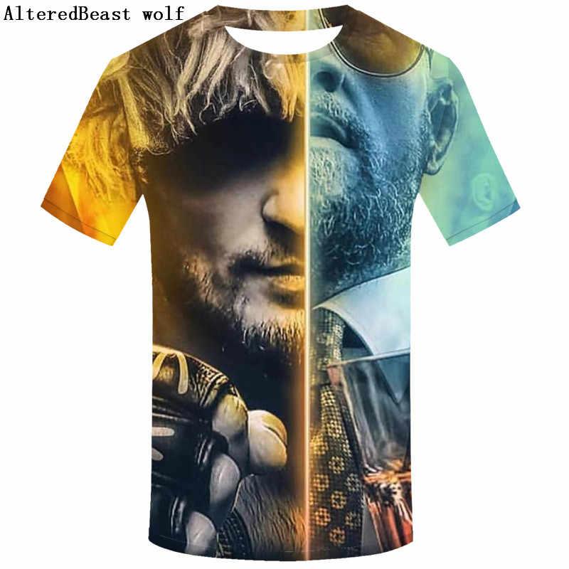 2019 модная мужская футболка Хабиб нурмагомедов эпос Конор Макгрегор Повседневная летняя футболка с графическим принтом