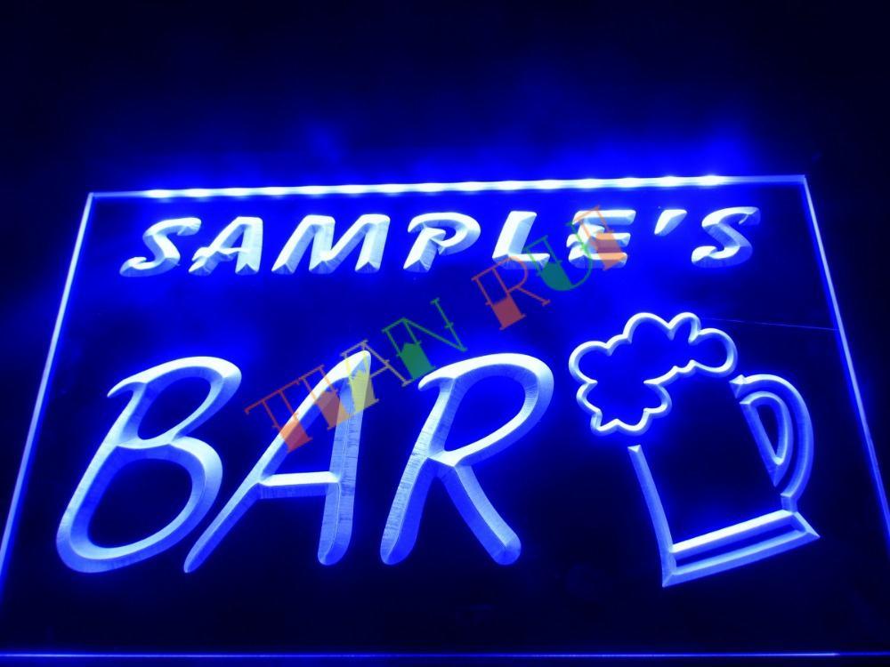 DZ023 Bar Beer Mug Glass Pub LED Neon Light Sign hang sign