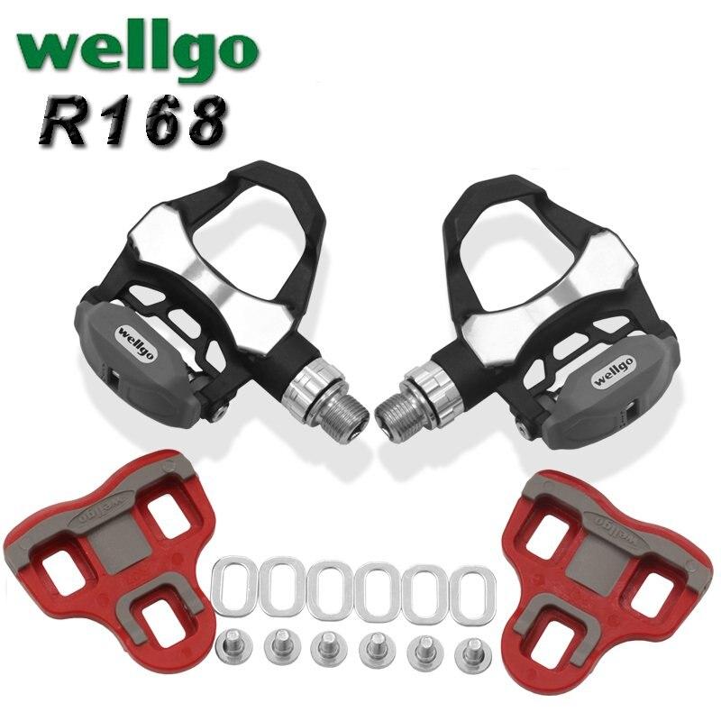 Wellgo Route Vélo Look KEO Compatible Scellé Pédales