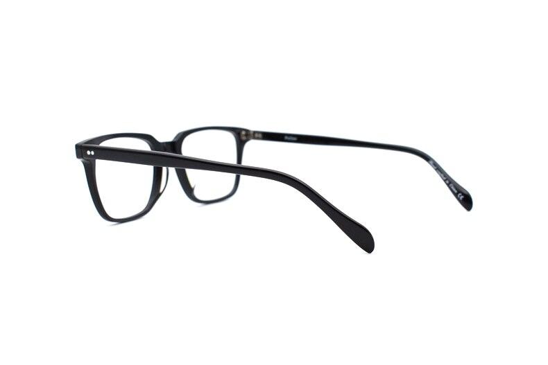 Vintage Kare Optik Gözlük çerçevesi Retro Gözlük Erkekler Ve