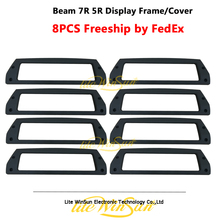 Litewinsune 8xdisplay Frame Cover для Beam R7 Lyre 5R Lighting пластиковая крышка Бесплатная доставка от FedEx Express