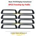 Litewinsune 8xdisplay рамка Крышка для луча R7 Lyre 5R освещение пластиковая крышка Бесплатная доставка от fedex express