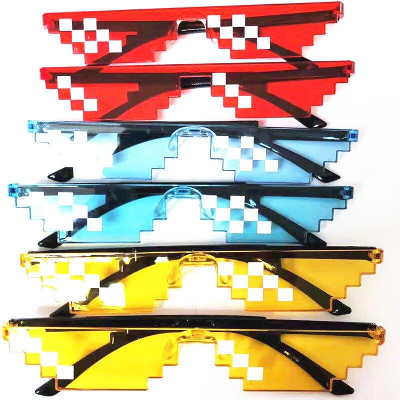 Mosaic Pixel Unisex Sunglasses